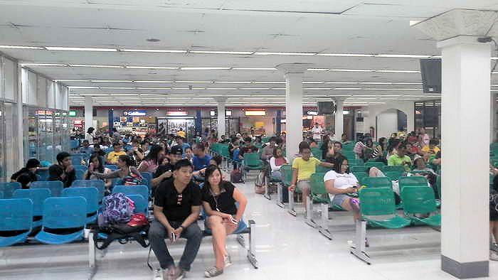 warteraum domestivc airport manila
