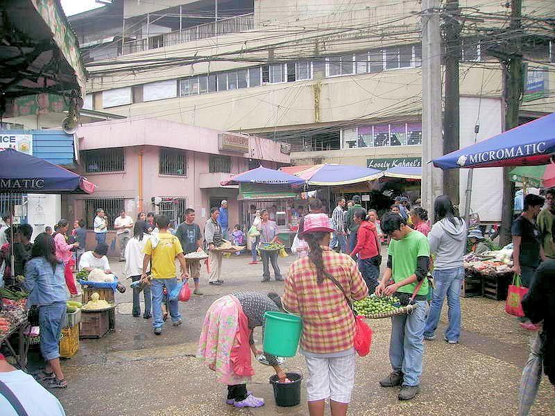 baguio local markt