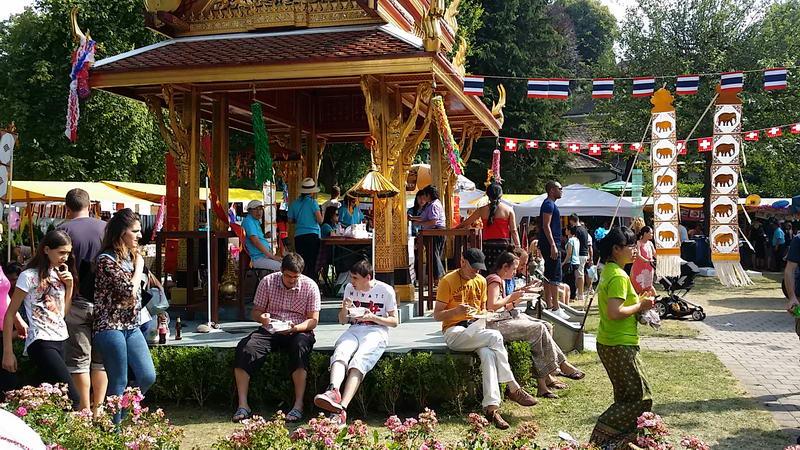 relax beim festival
