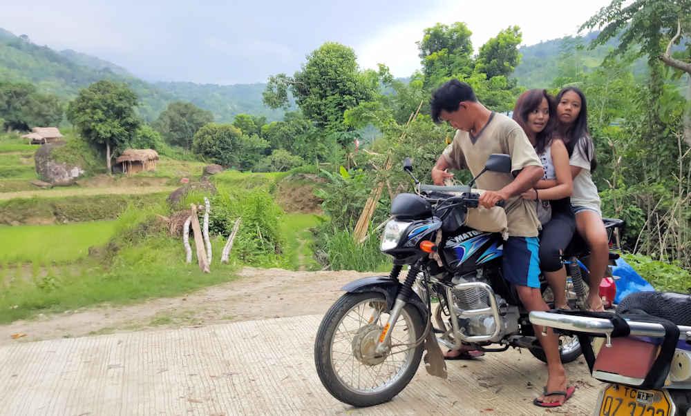 motorbike-on-street